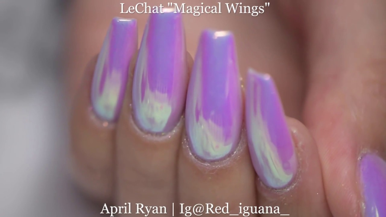 Unicorn Skin Nails With Cre8tion Pigment And LeChat Fairy Collection