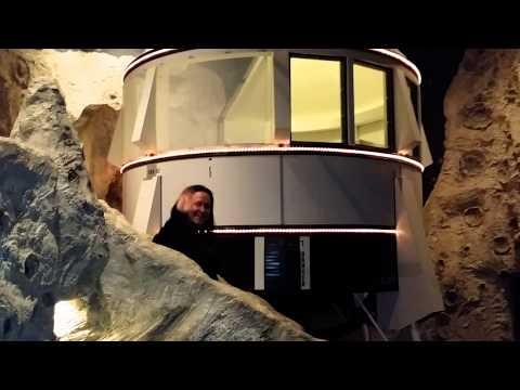 Tranquility Base - Lunar Lander Styled Hotel Room
