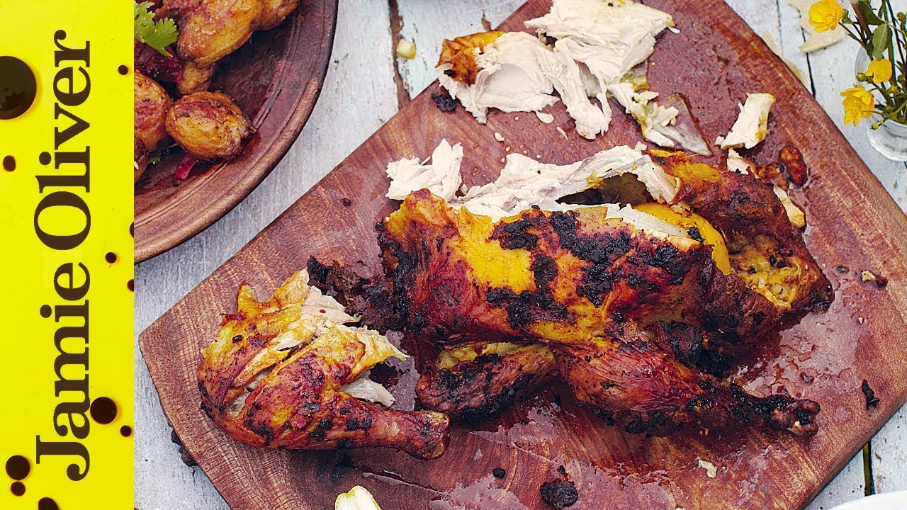 Spicy Indian Roast Chicken Video Jamie Oliver