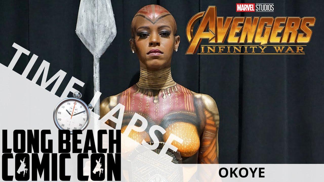 Okoye (Time Lapse) | Long Beach Comic Con 2018 | EI Makeup School