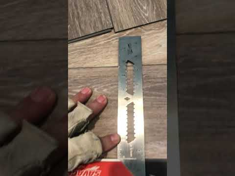 How to install Luxury Vinyl Plank, LVP, for DIY, homeowner tools
