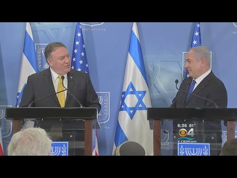 Secretary Of State Mike Pompeo Continues Foreign Mission With Stop In Israel