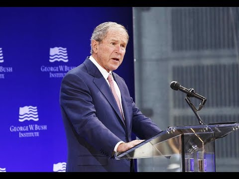 Download Youtube: George W. Bush Attacks Trump