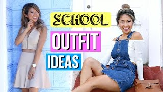 Back to School Lookbook! 6 Outfit Ideas 2016!