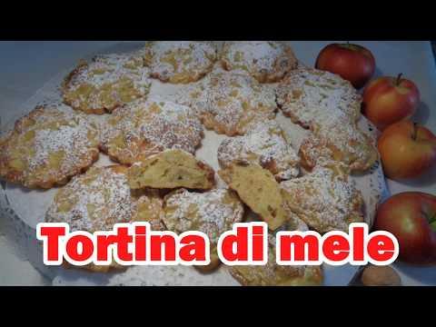 TORTINI DI MELE SOFFICI E LEGGERI - Ricetta Facile