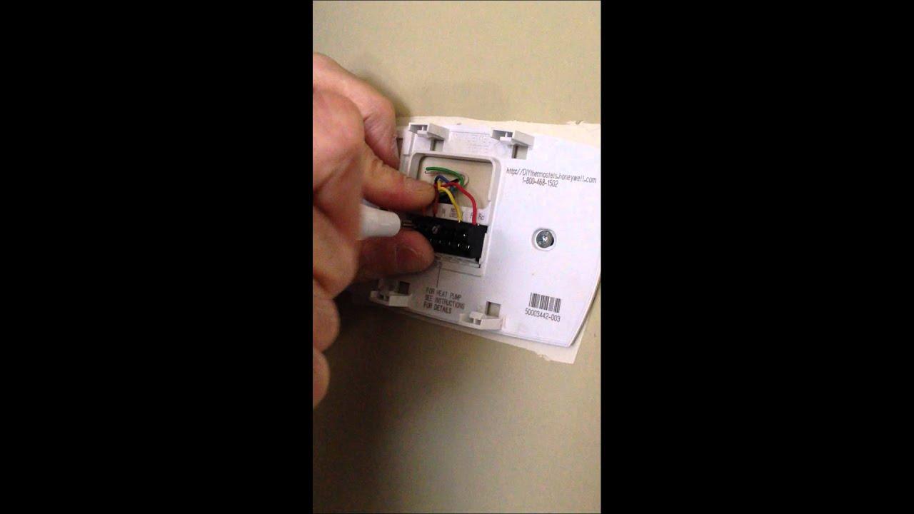 Honeywell Thermostat Vs Nest Thermostat Wiring