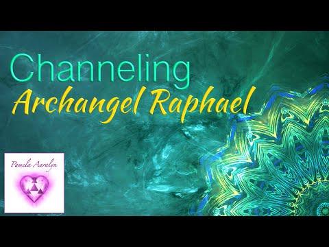 Pamela Aaralyn Channels the Archangel Raphael