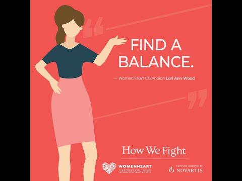 How can I manage heart failure as a mom/caregiver? – Lori Ann #HowWeFight