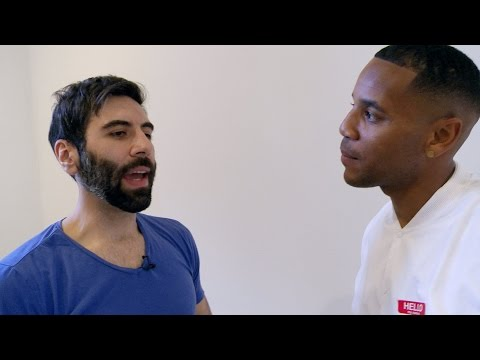 The state of man - Reggie Yates' Extreme UK: Men at War - Preview - BBC Three
