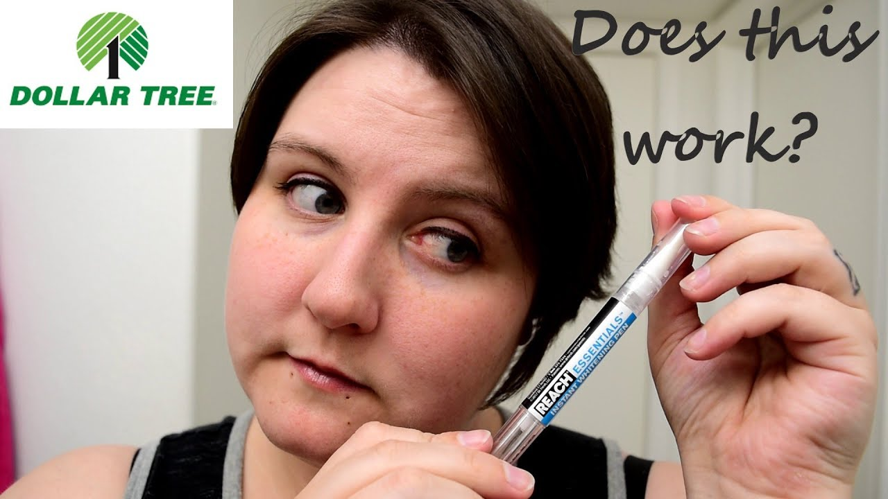 Reach Whitening Pen Review Dollar Tree Youtube
