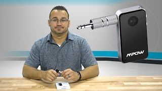 Mpow Bluetooth Receiver - No Headphone Jack, No Problem