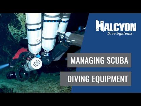 Managing Scuba Diving Equipment