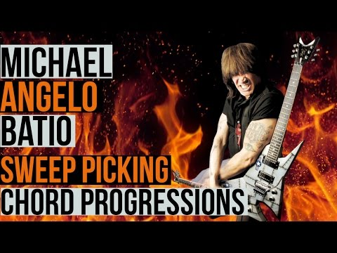 Michael Angelo Batio - Sweep Picking 101 - Part 6 - Outlining Chord Progressions