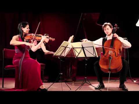 Greenwich Trio - Felix Mendelssohn Bartholdy: Piano trio No. 2 in C minor, Op. 66 (1. movement)