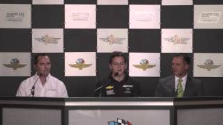 Stefan Wilson Joins KV Racing For The 2016 Indianapolis 500