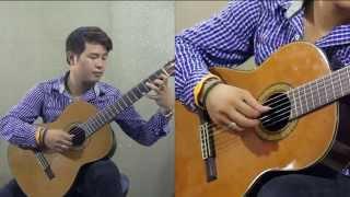 Tự học Guitar Cổ điển 1 - 16. Chồng âm và cách chơi chồng âm