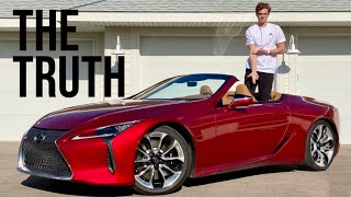 Lexus LC500 Convertible   Dreaming Of The Past