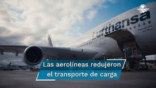 Glyn Hughes, gerente global de Cargo de IATA, comentó que las aerolíneas han reducido de manera significativa su capacidad de transporte de pasajeros y, por lo tanto, de carga