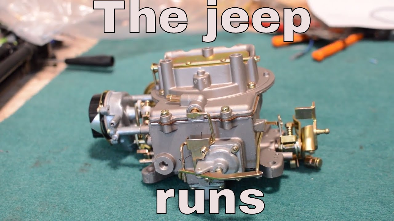 1979 Jeep Cherokee Carb Fuel Pump And Filter Install Ep 4 Youtube Cj7