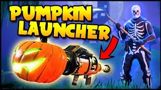 HALLOWEEN UPDATE! PUMPKIN LAUNCHER, Skins, Slurp Juice & More! - Fortnite Battle Royale Gameplay