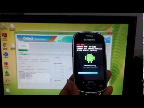 Video Cara Flashing Samsung Galaxy Star GT-S5282 via Odin