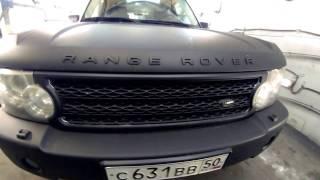Range RoveR   перекраска авто из раптора в Титан