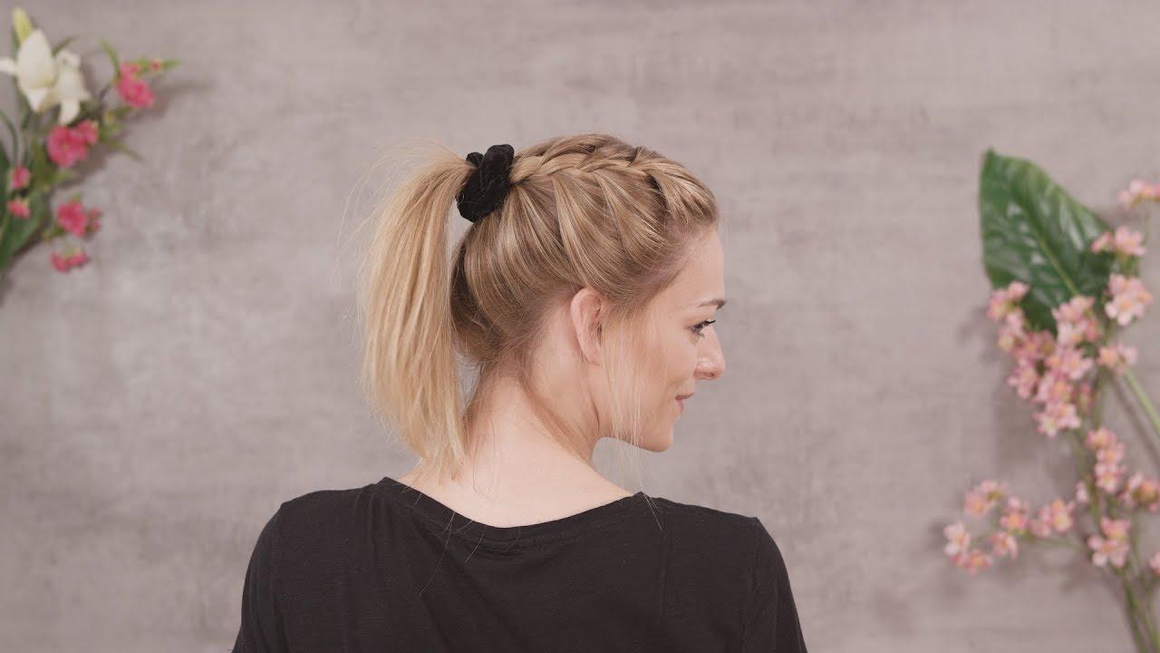3 Einfache Frisuren Mit Haargummi Active Beauty