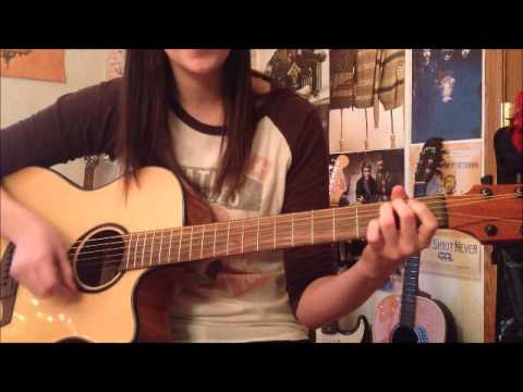 Never Shout Never- Between Two Worlds [Cover] (chords in description ...