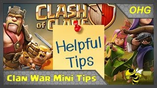 Clan War Mini-Tip #36: When to Lure the CC Troops