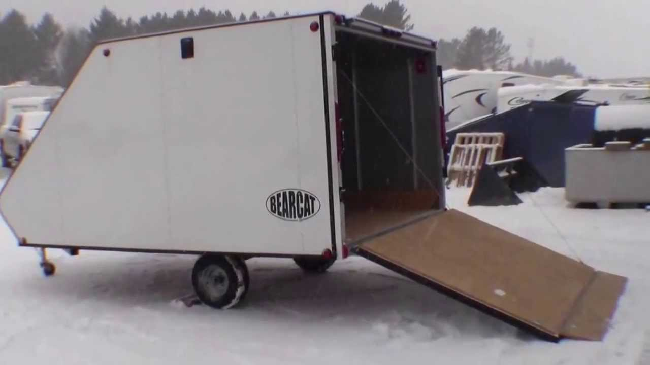 2013 Bearcat 11 Enclosed Snowmobile Trailer By Livin
