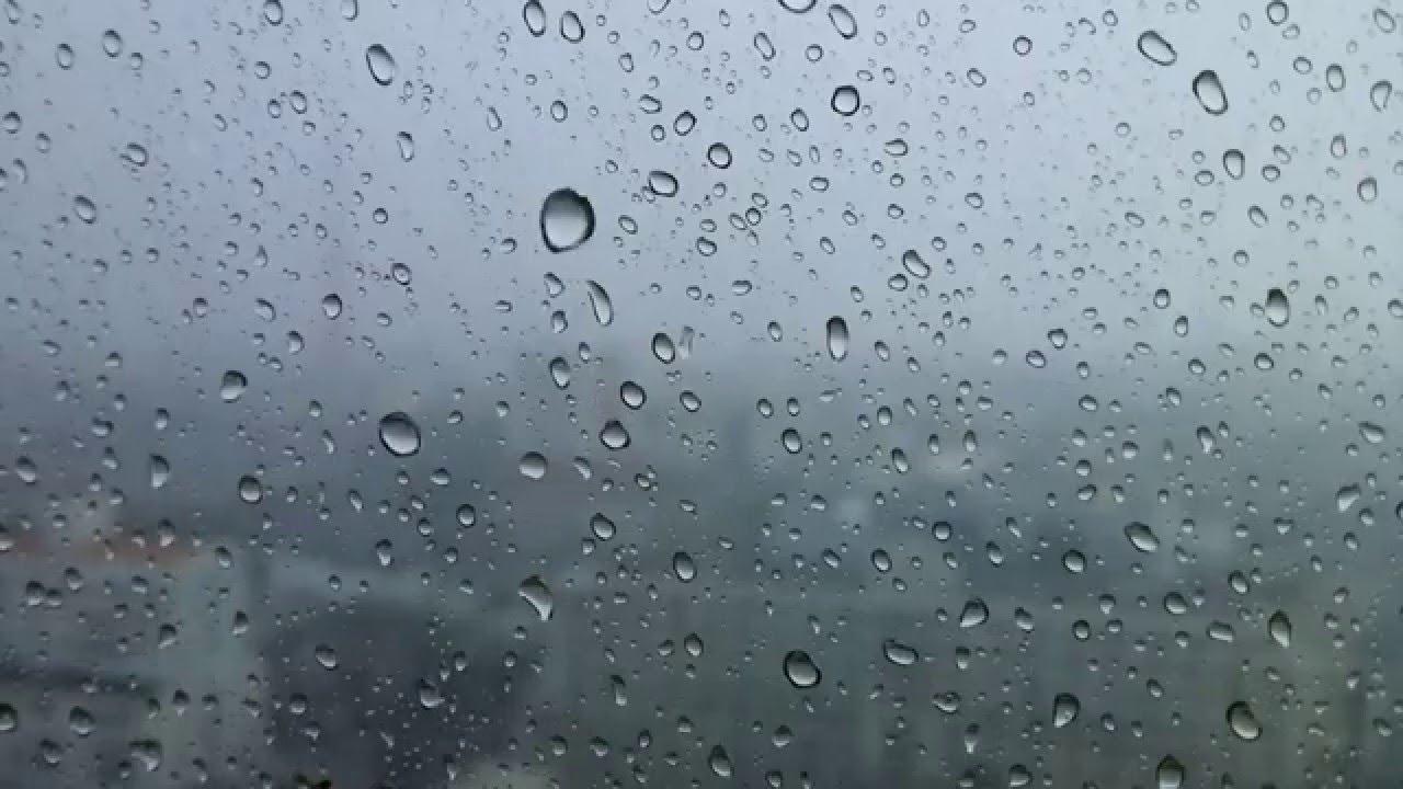 raining window youtube