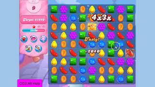 Candy Crush Saga Level 211 NO BOOSTERS Cookie