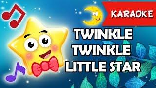 Twinkle Twinkle Little Star[Karaoke] | Nhac Tieng Anh Thieu Nhi | Hoc Tieng Anh Qua Bai Hat