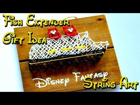 Fish Extender Gift Idea - String Art