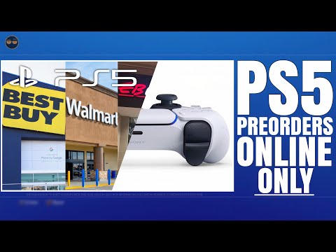PLAYSTATION 5 ( PS5 ) - PS5 PREORDERS WILL BE ONLINE ONLY & NEED BIG DEPOSIT!? / PS5 ANNOUNCEME...