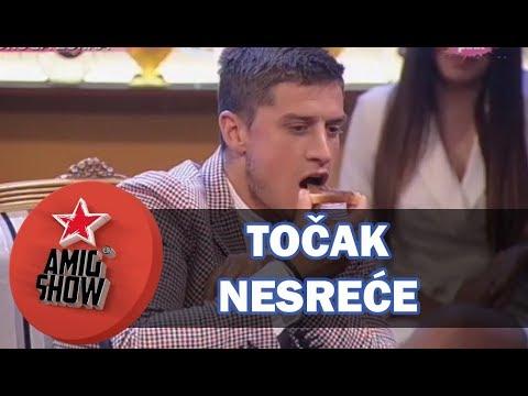 Točak Nesreće - Aleksandra Subotić i David (Ami G Show S11)