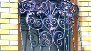 видео Решетки с элементами ковки