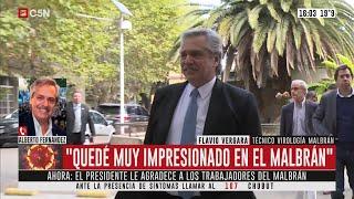Habla Alberto Fernández (Parte 1)