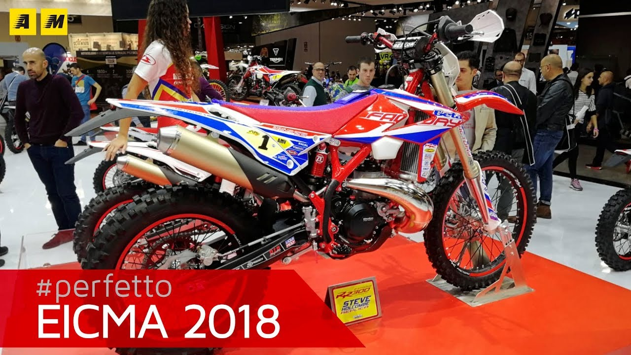 Beta 300 Replica Holcombe e 125 - EICMA 2018 [ENGLISH SUB]