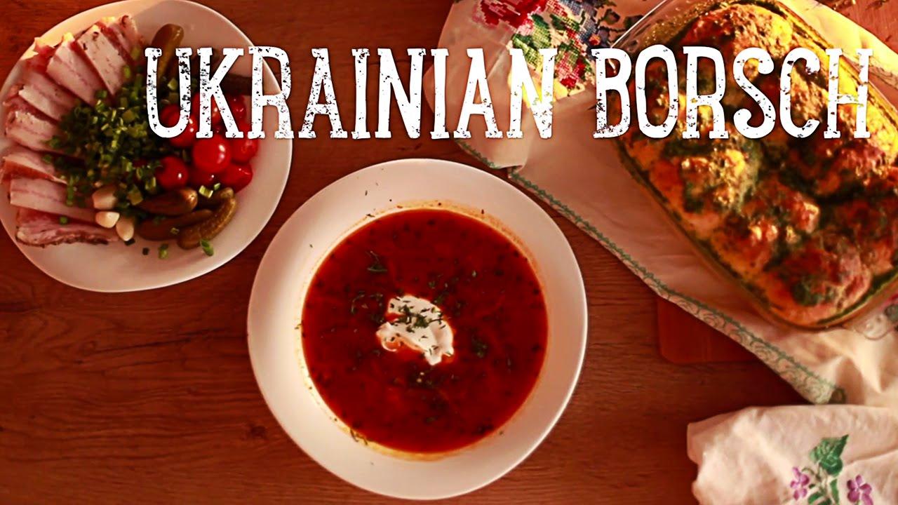 Authentic Ukrainian Borscht Youtube