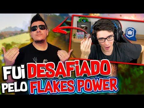 FUI DESAFIADO PELO FLAKES POWER