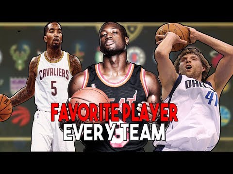 FAVORITE PLAYER FROM EVERY NBA TEAM | KOT4Q