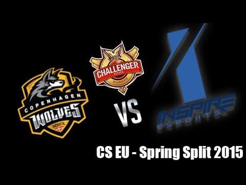 Inspire vs Copenhagen Wolves - CS EU 2016 - Spring Split - Week 2 - Game 2 - FR