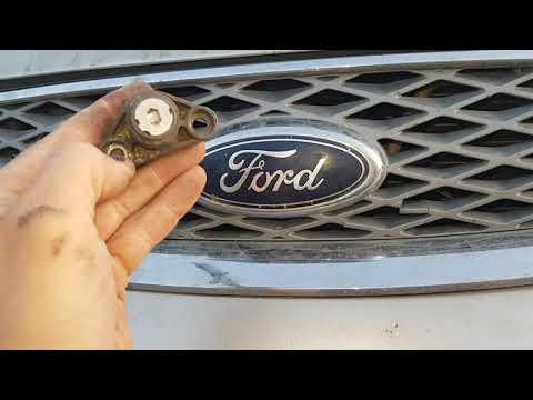 Форд мондеу3 не открывается капот