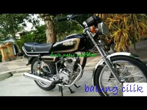 Video Modifikasi Motor Honda Gl100 Modif Youtube