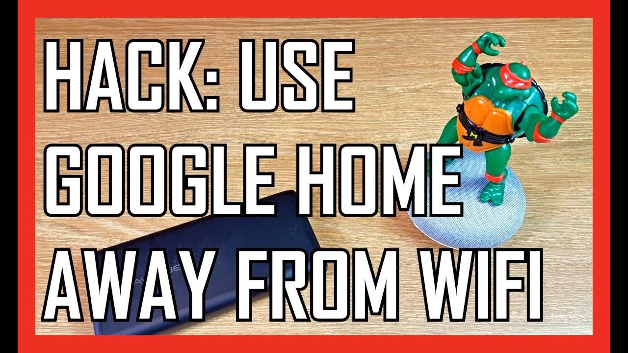 hack into google home mini