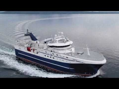 Hopen - Norwegian deep sea trawler