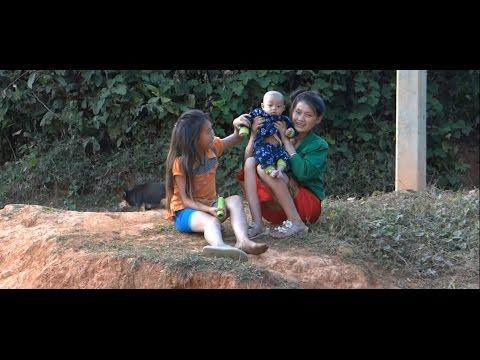 من بين المعاناة اليومية في لاوس \ Daily Struggle in Laos \ Vlog 62