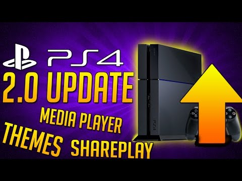 PS4 System Update 2.0: Themes is Coming to PS4, Shareplay, Hopefully A Media Player App and More