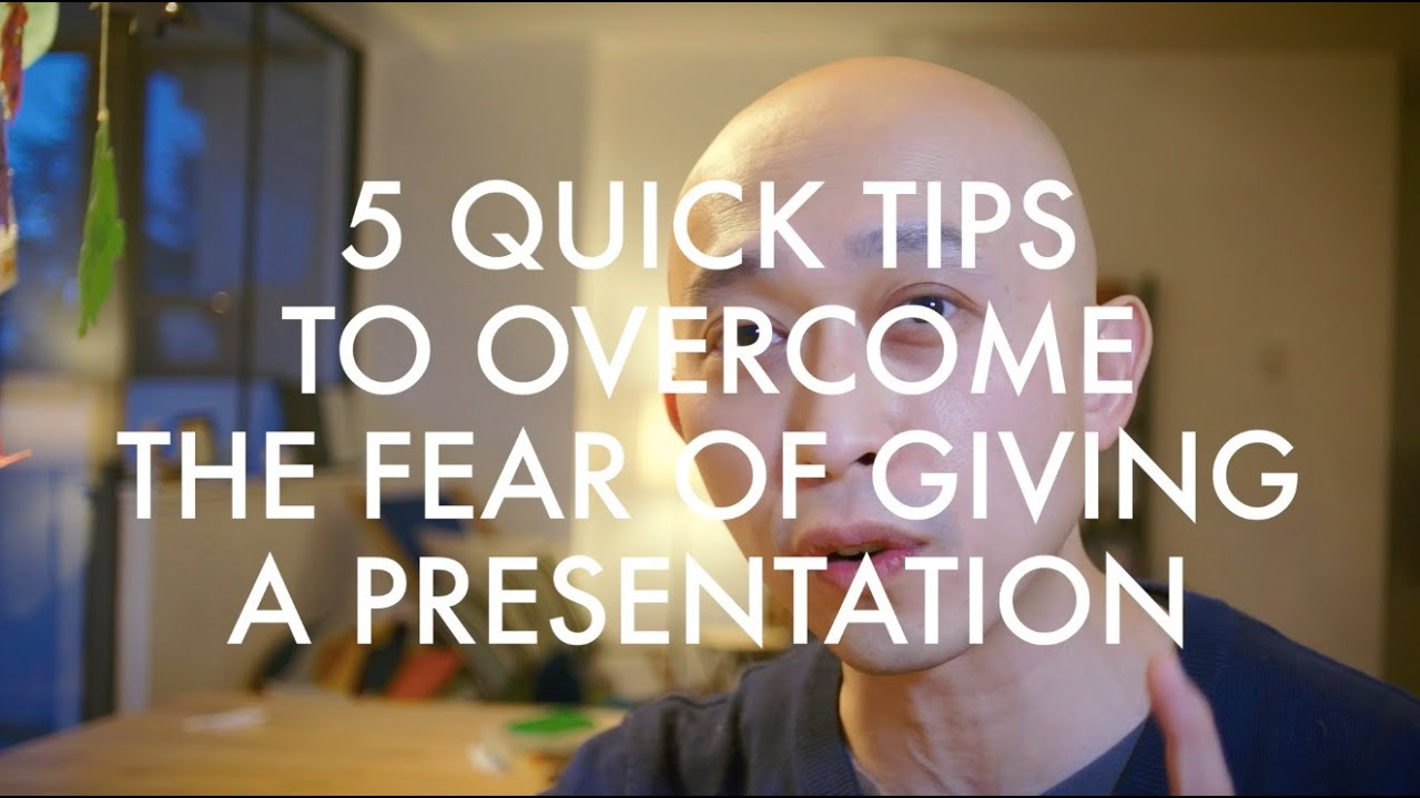 overcoming fear in making oral presentation Why public speaking scares you and how to overcome your fear coaches corporate, non-profit and academic clients to make presentations on camera and in.